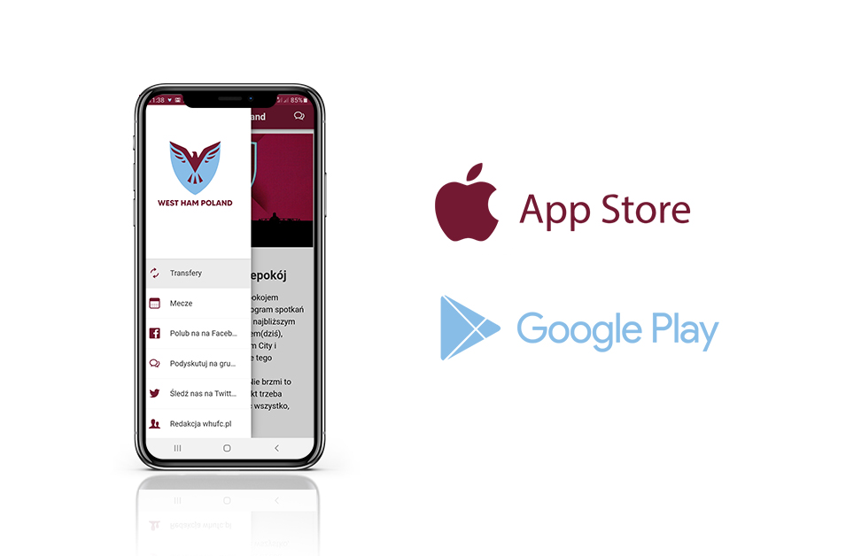 Aplikacja West Ham Poland