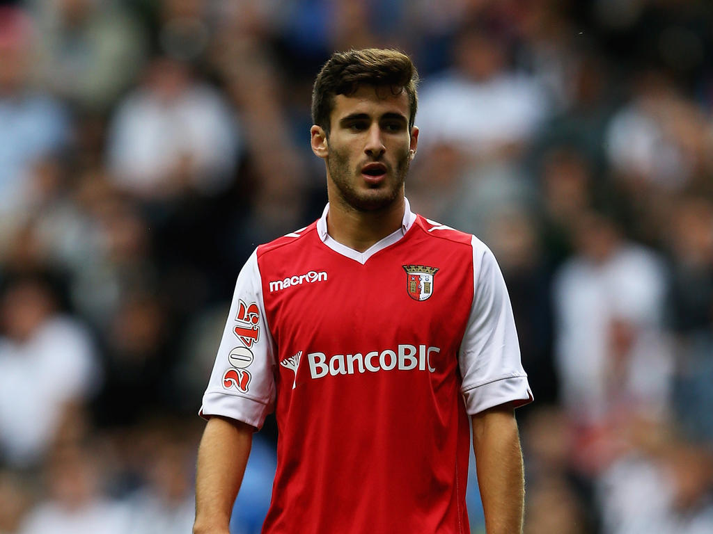 NEWCASTLE UPON TYNE, ENGLAND - AUGUST 10: Rafa of Sporting Braga in action during a Pre Season Friendly between Newcastle United and Braga at St James' Park on August 10, 2013 in Newcastle, England. (Photo by Matthew Lewis/Getty Images)