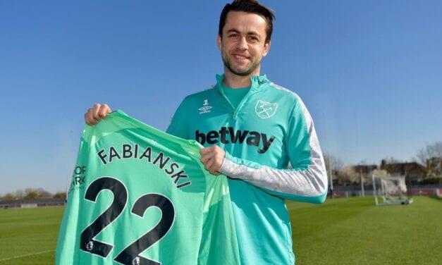 Łukasz Fabiański przedłużył kontrakt z West Hamem United do 2022 roku [WIDEO]