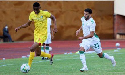 Benrahma kolejny raz wybiegł na boisko w swoich barwach narodowych