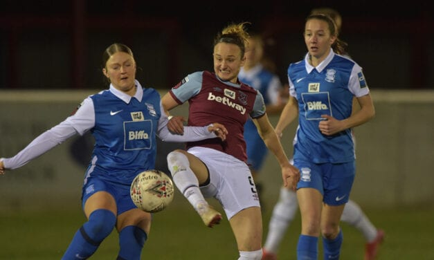 West Ham United Women vs Birmingham City 2:2