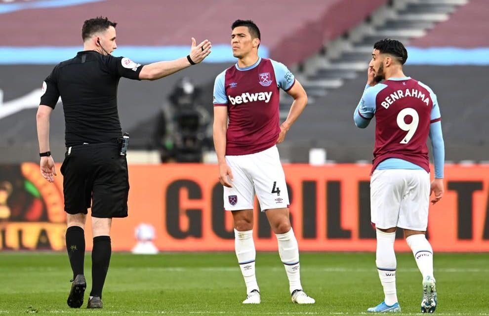 West Ham odwołał się od czerwonej kartki przyznanej Fabianowi Balbuenie