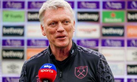 Konferencja prasowa Davida Moyesa przed meczem z Leicester City