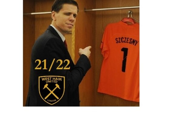 Wojciech Szczęsny nowym bramkarzem w West Ham United od przyszłego sezonu!