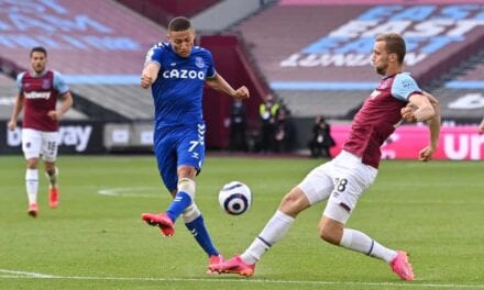 Porażka na London Stadium. West Ham 0:1 Everton [SKRÓT MECZU]