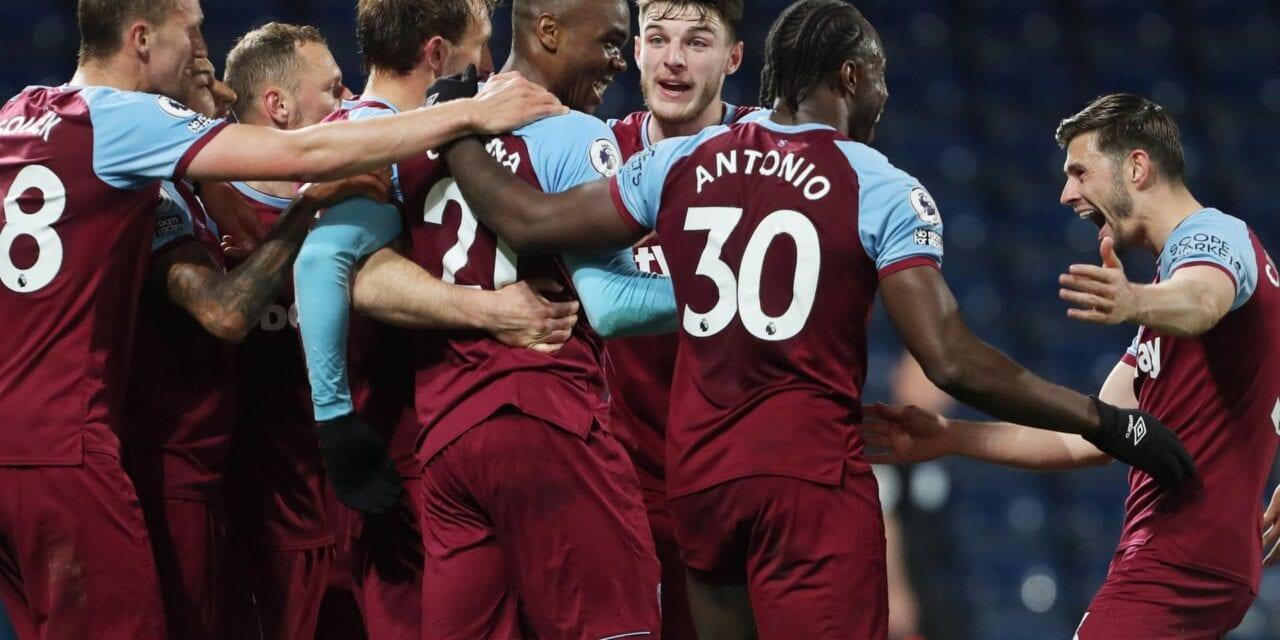 Ważne 3 punkty na The Hawthorns. West Brom 1:3 West Ham [SKRÓT MECZU]
