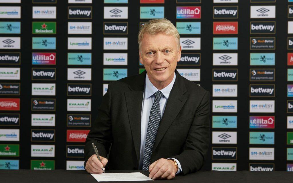West Ham United oficjalnie ogłosił kontrakt Davida Moyesa