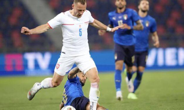 Vladimír Coufal i Tomáš Souček zagrali w towarzyskim spotkaniu z Włochami