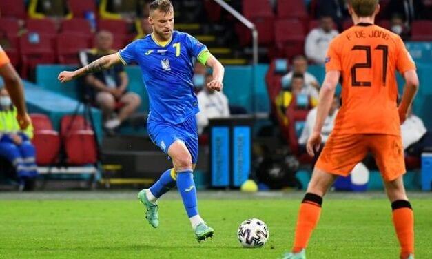 Piękny gol Yarmolenki na nic się zdał. Ukraina przegrywa z Holandią