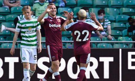 Za kulisami: Celtic Glasgow vs West Ham United [WIDEO]