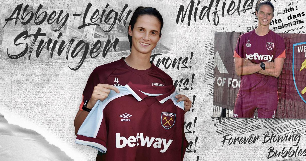 West Ham United Women ogłosił podpisanie kontraktu z Abbey-Leigh Stringer