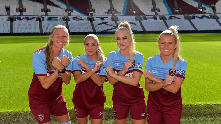 Potwierdzono mecze West Hamu United Women – Barclays FA WSL 2021/22