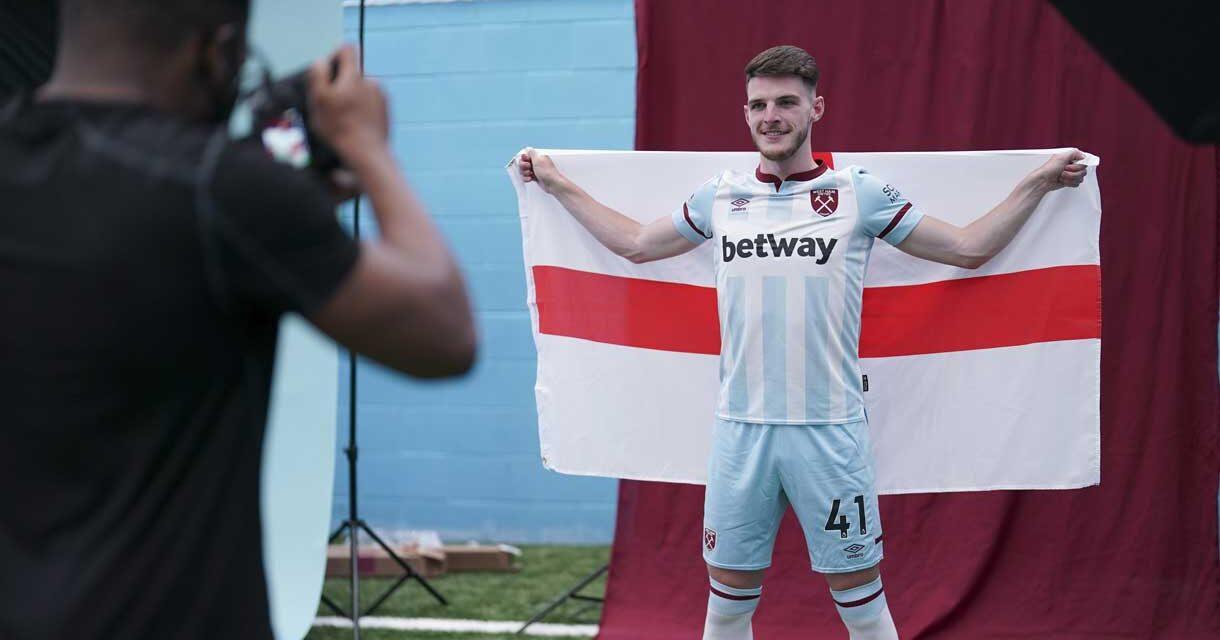 Declan Rice powołany do reprezentacji Anglii. Jest też Jesse Lingard