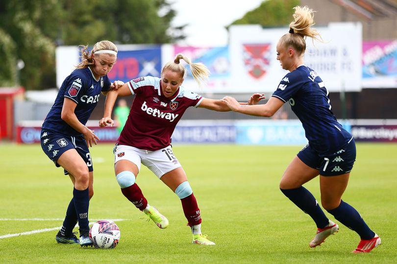 West Ham United Women vs Aston Villa 1:1 – frustracja Olli Hardera