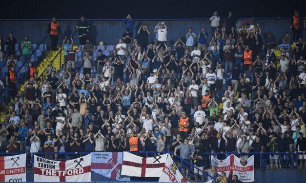 Za kulisami: Dynamo Zagrzeb vs West Ham United  [WIDEO]