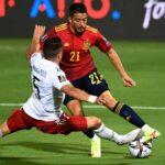 Pablo Fornals z asystą dla reprezentacji Hiszpanii. Souček, Coufal i Král także pojawili się na boiskach