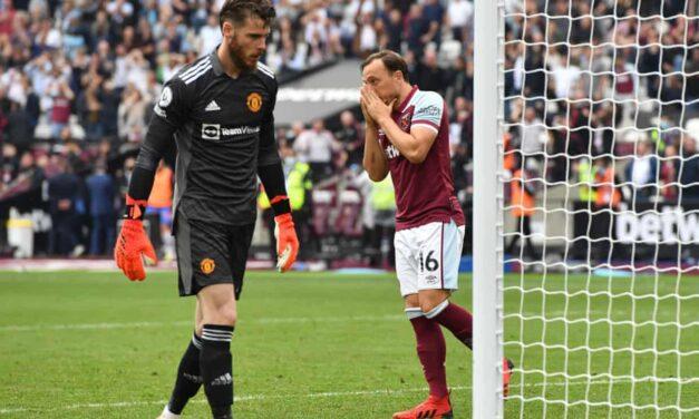 Dreszczowiec na London Stadium. West Ham 1:2 Man Utd [SKRÓT MECZU]