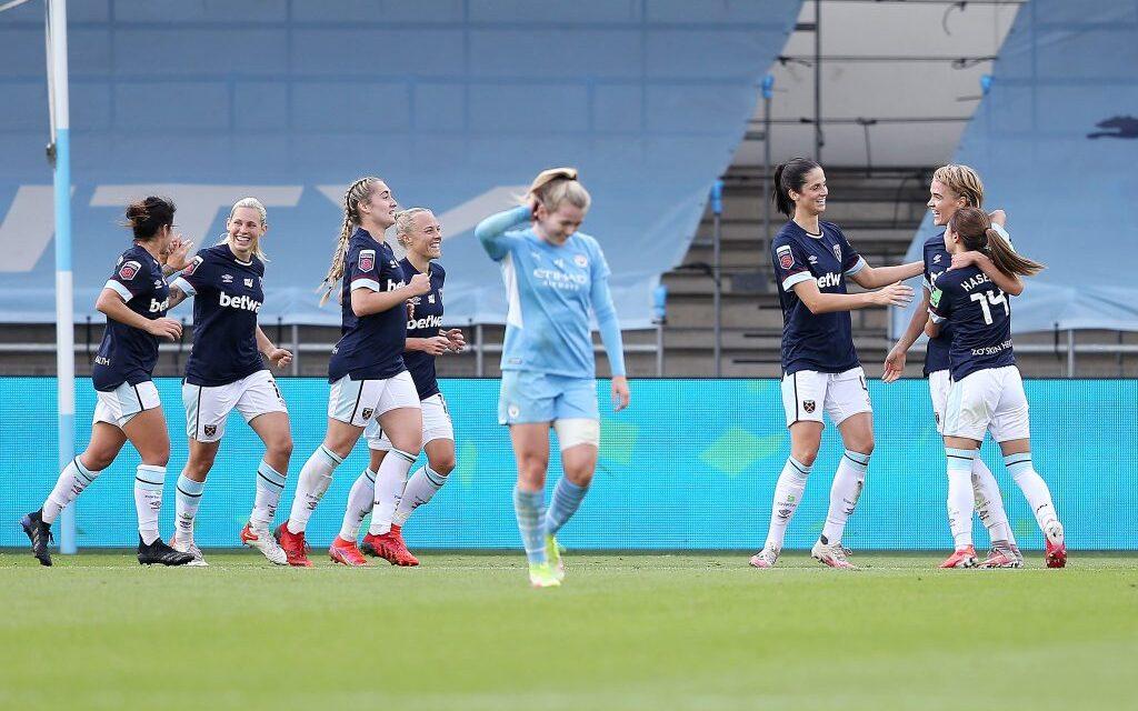 West Ham United Women wygrywa z Manchesterem City Women